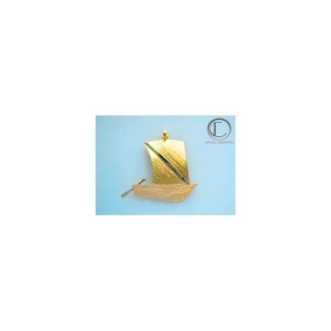 skiff gold skiff pendant gold 750 1000 bijoux antilles