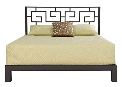 black metal headboard king product reviews buy greek key metal headboard and aura