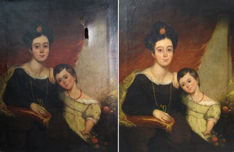 Painting Restoration by Painting Restoration And Cleaning Lawson Antiques