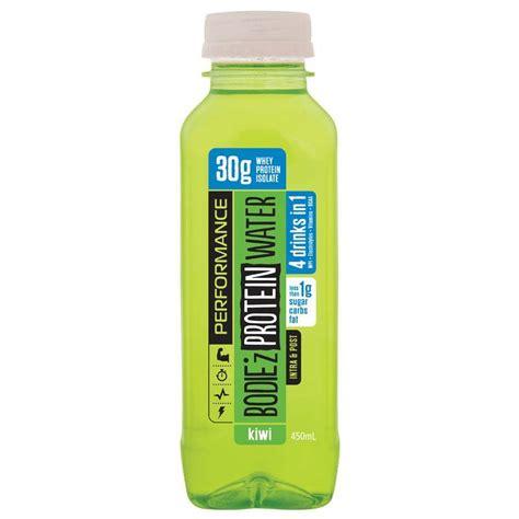 protein water buy bodiez protein water kiwi 450ml at chemist
