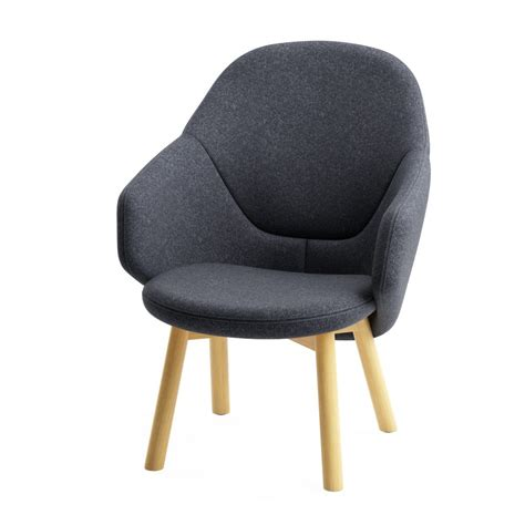 Lounge Armchair by Alba Lounge Armchair By Ton Dimensiva