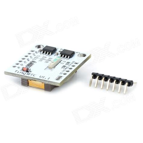 Tinny Rtc Ds1307 By Akhi Shop tiny rtc i2c module w 24c32 memory ds1307 clock white