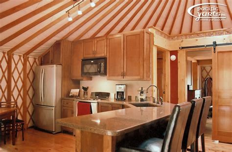 design your own home inside and out a yurt of my own pacific yurts