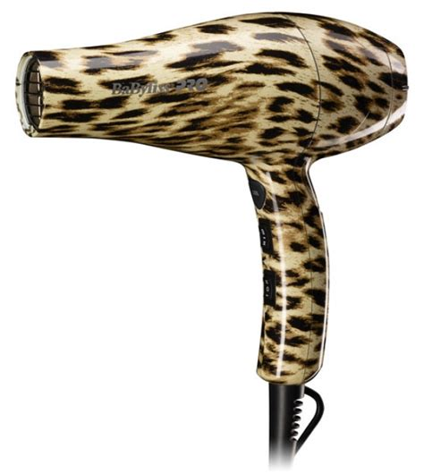 Leopard Print Hair Dryer things from babyliss pro