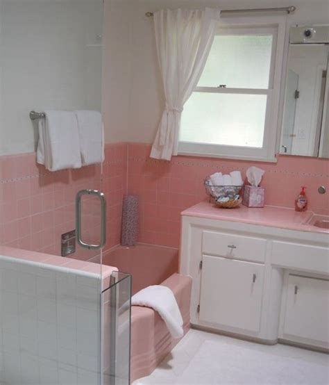 pink tile bathroom ideas 34 4x4 pink bathroom tile ideas and pictures