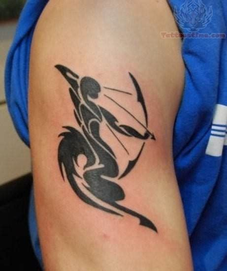 tribal sagittarius tattoo designs sagittarius tribal style