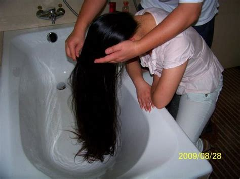 yingzibaobei wash  long hair chinalonghaircom