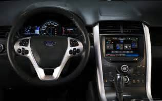 Ford Edge 2011 2011 Ford Edge Sport Interior Wallpaper Hd Car Wallpapers