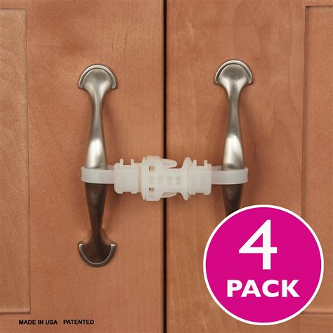 Amazon.com : Kiscords Baby Safety Cabinet Locks for Knobs