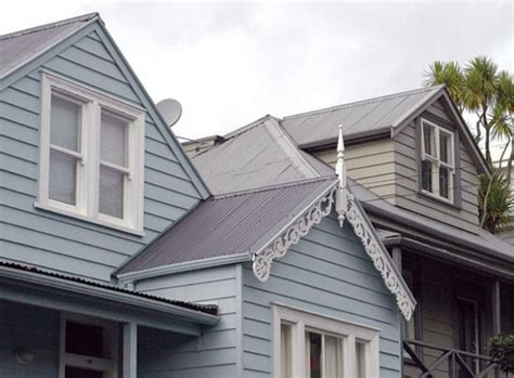 Gable Valley Roof Gutters And Downpipes Original Details Branz Renovate