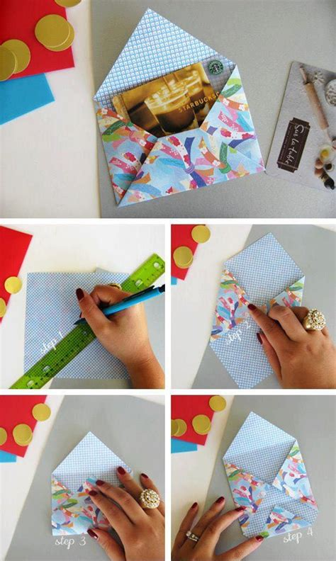 Diy Crafts With Scrapbook Paper - diy scrapbook paper envelope diy crafts
