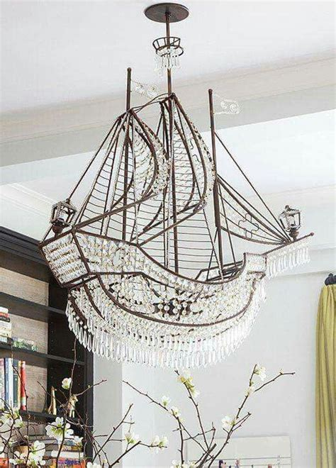Pirate Ship Chandelier Now That S A Chandelier Pirateship Beachside Bungalow