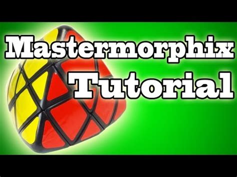 tutorial rubik mastermorphix resolver mastermorphix 3x3 principiantes hd tutor