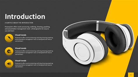 Sound Ppt Presentation Wide Goodpello Product Introduction Ppt Template