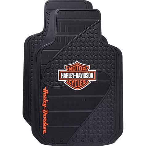 Harley Davidson Truck Floor Mats by My Cool Car Stuff Harley Davidson Floor Mats Plasticolor
