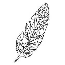 Geometrisch gt geometrische feather
