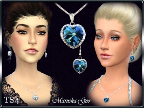 Home Decor Magazines heart of the ocean necklace and earrings at maruska geo
