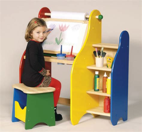 child art desk guidecraft art activity desk contemporary kids desks