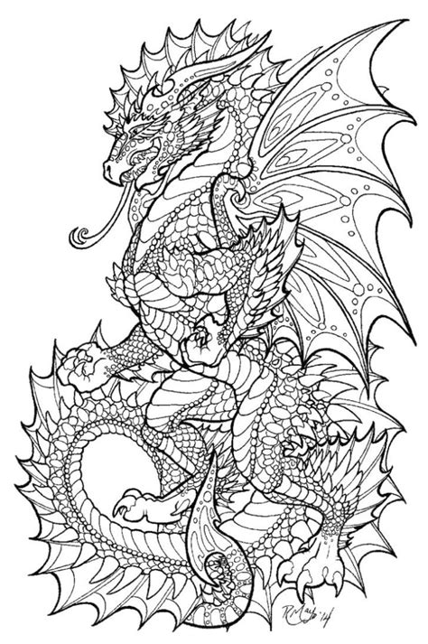 coloring pages for adults printable coloring pages for get this dragon coloring pages for adults printable 6sm40