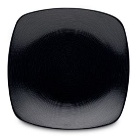Plate For Black buy black square plate from bed bath beyond