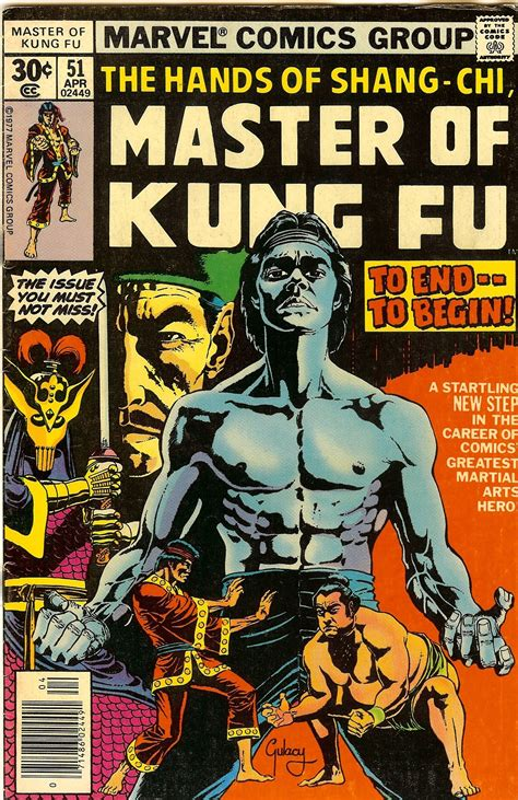 shang chi master of kung fu gulacy and moench mokf six issue crescendo part 3 the periodic fable