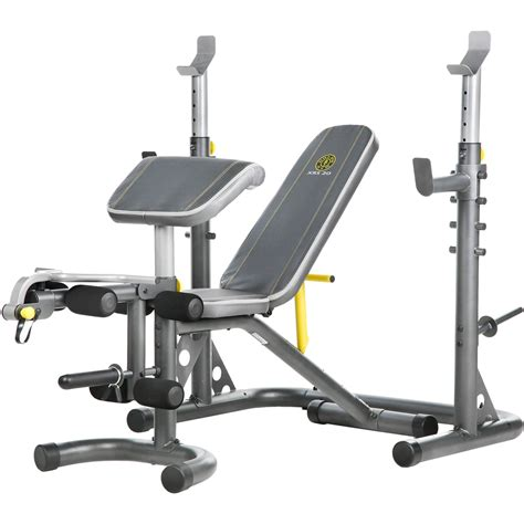 xrs 20 bench gold s gym xrs 20 rack and bench strength training