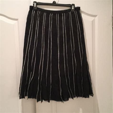 Flat Front Skirt 58 carole dresses skirts black white flat