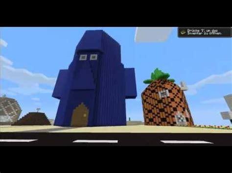 Spongebob 3 All Hp bottom in minecraft