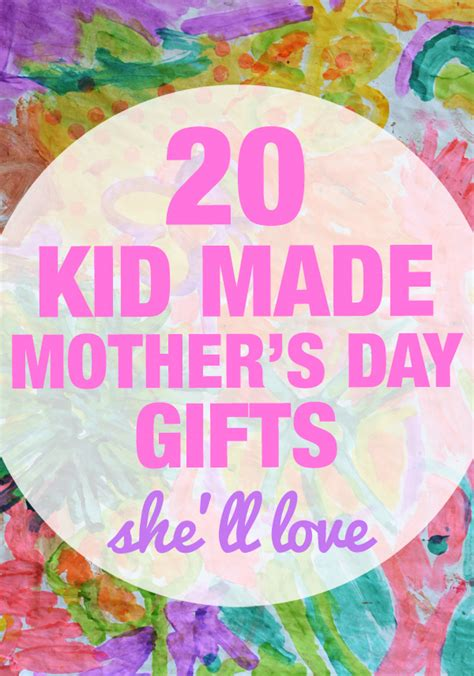 mother s day gifts for moms who love spending time in the 20 kid made mother s day gifts she ll love meri cherry
