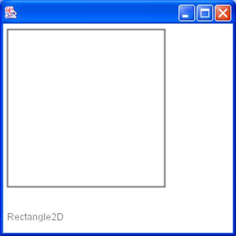 java swing rectangle draw rectangle 2 shape 171 2d graphics gui 171 java