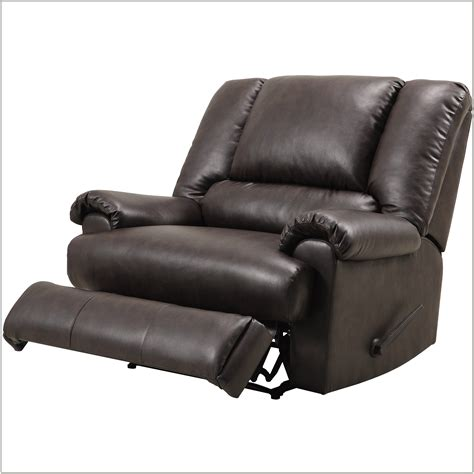 Black Leather Chair And A Half Design Ideas Black Leather Chair And A Half Recliner Chairs Home Decorating Ideas Grapmrexvo