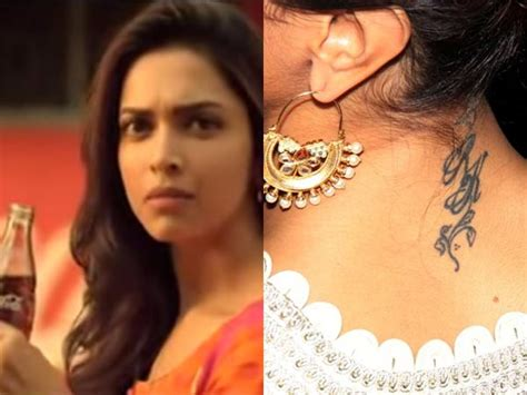 deepika tattoo removed deepika padukone news deepika padukone rk