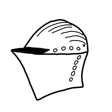 knight helmet coloring page knight helmet coloring pages
