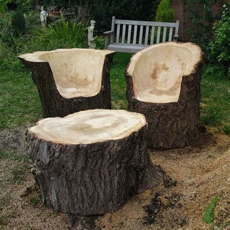stump chair pin by jenise tucker on awesomeness trees