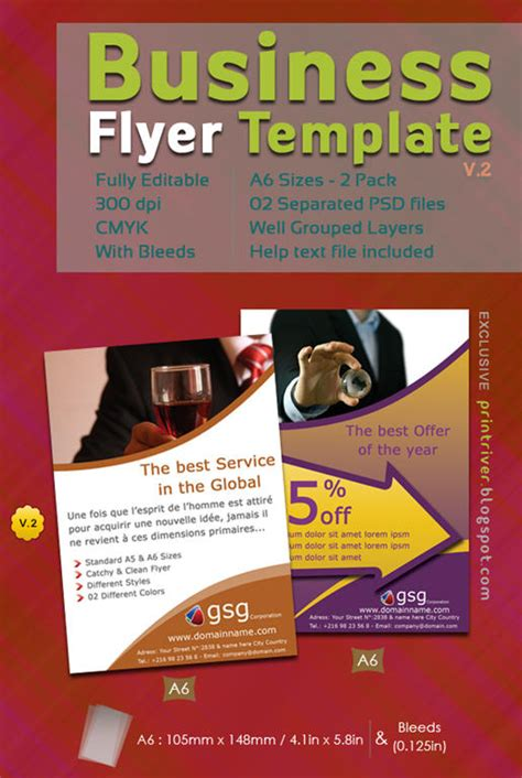 new business flyer template free professional sles