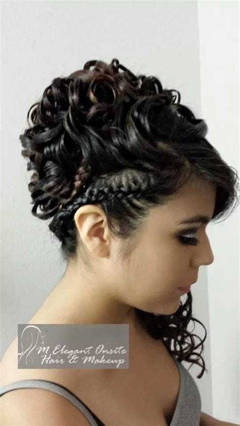 quinceaneras hairstyles curls mc4 hair quinceanera style done by monica find us at www