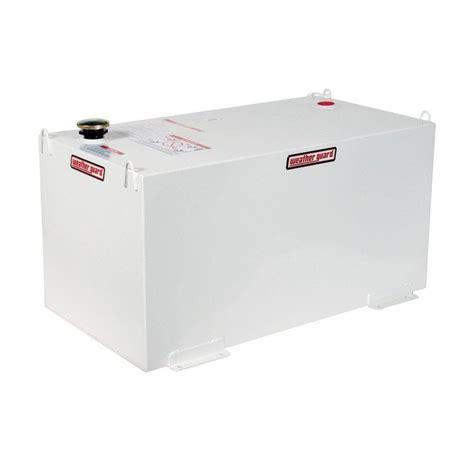 lund 50 gal aluminum vertical liquid storage tank 3350