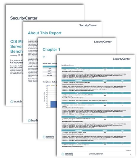 Cis Report Template Cis Microsoft Servers Benchmark Reports Sc Report