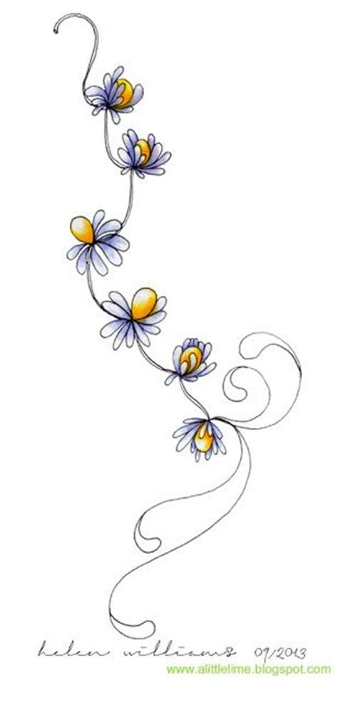 doodle analysis flowers best 20 chain ideas on