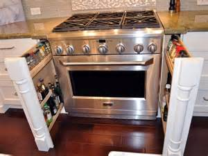 Roll Out Spice Racks For Kitchen Cabinets Photo Page Hgtv