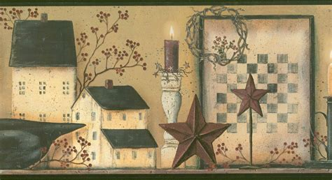 country kitchen wallpaper border primitive vintage and apples apples apples barn star berries wallpaper