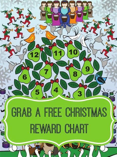 printable christmas reward chart christmas reward chart
