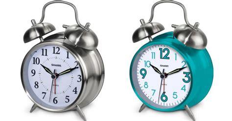 sharp twinbell alarm clocks only 7 88 hip2save