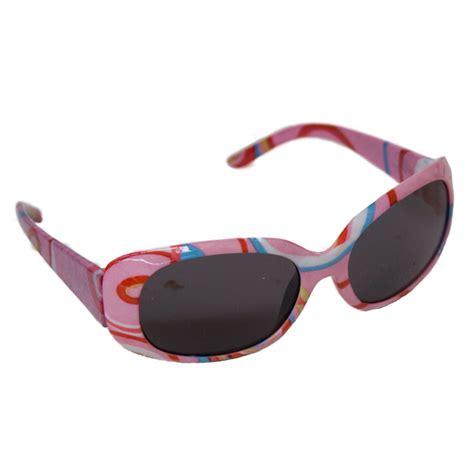 Jbanz Sunglasses Pink Orange Stripe jbanz sunglasses for 4 10 years banz carewear