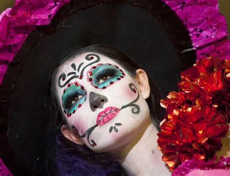 imagenes de catrina halloween maquillaje de la catrina para halloween paso a paso