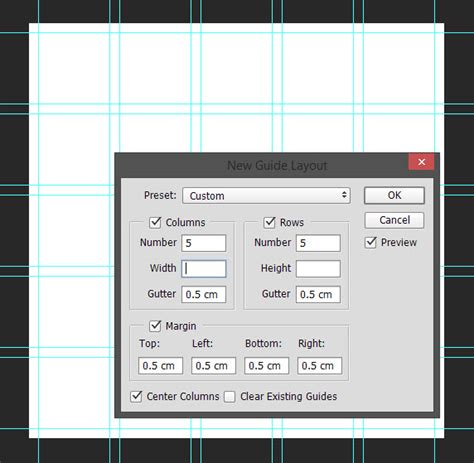 guide layout photoshop cc new guide layout pada adobe photoshop cc 2015