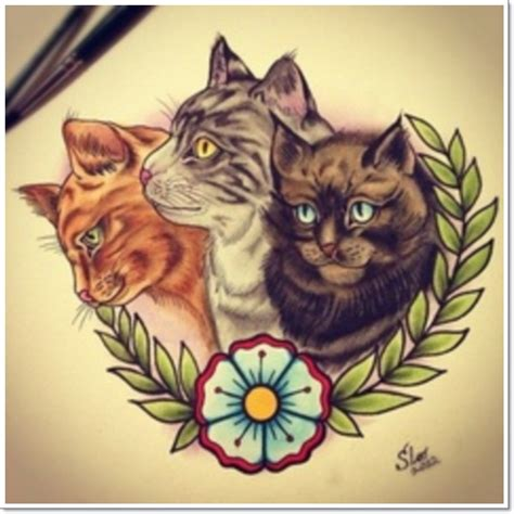 meow 25 amazing cat tattoos
