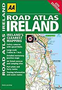leaving ireland the road back to america books road atlas ireland aa publishing 0000749577290