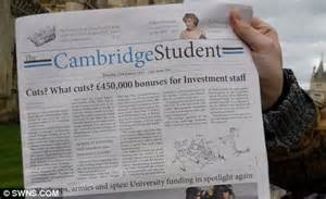 college newspaper cambridge newspaper editor sacked for