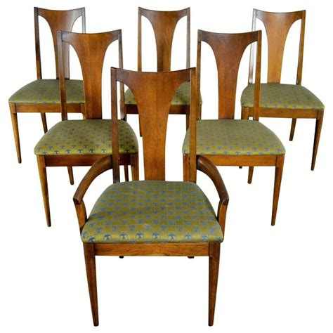 broyhill dining room chairs mid century modern broyhill brasilia 6140 84 and 85 single
